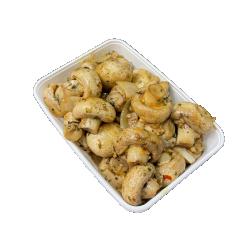 Champignons met knoflook
