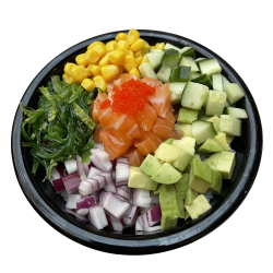 Large Poke Bowl Zalm