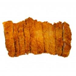 Gepaneerde kip met kimchisaus