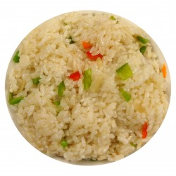 Gewokte nasi