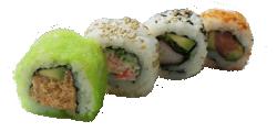 Sushi mix (4 stuks)