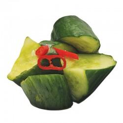 Zoetzure komkommers
