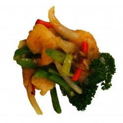 Gamba's met five spice kruiden