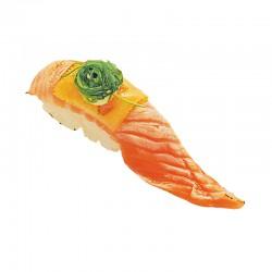 Flame Salmon Nigiri