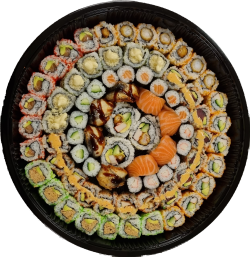 Menu 5 Familie Maki Mix 4 personen (78 stuks)