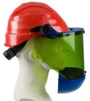 Gelaatsbeschermer inclusief helm