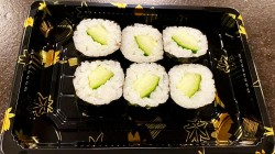 Komkommer Maki  (6 stuks)