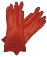 Rubberen isolerende handschoenen