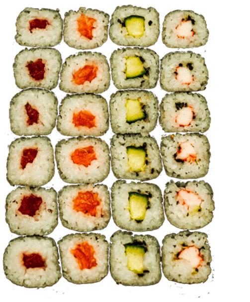 Jusho Sushi Mix Box 24 stück