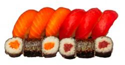 Jusho Sushi-Lachs un Thunfisch box, 12 stück