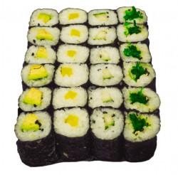 Jusho Vegetarische Maki mix, 24 stück