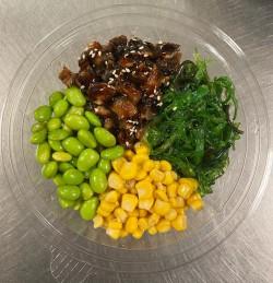 Paling & Salades & Sushi rijst